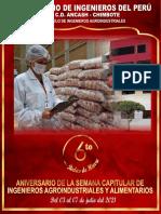 BROCHURE  ANIVERSARIO CIP