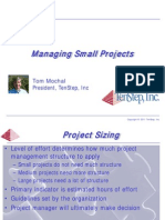 ManagingSmallProjects