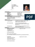 Bjorn Basar's Resume