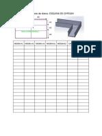 Formato de datos - Esquina de gypsum