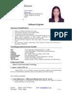 Diana Basar's Resume