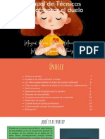 Manual de Técnicas para afrontar el duelo de 2 a 10 años