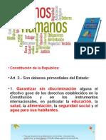 DERECHOS y RESPONSABILIDADES MUTUAS SUJETO-ESTADO
