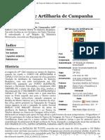 28.º Grupo de Artilharia de Campanha – Wikipédia, A Enciclopédia Livre