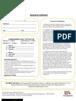 Delegate Contract & Questionnaire_VIP