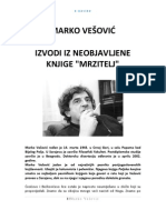 Marko Vesovic - Mrzitelj