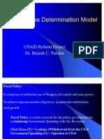 Income Determination Model