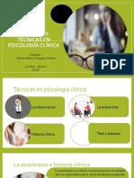 Métodos y técnicas en psicología clínica