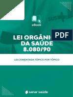 eBook Lei Organica Da Saude 1