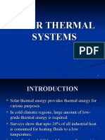 solar thermal systems