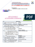 Evaluacion Diagnostica - Entrevista Al Ppff.inicial- 2021