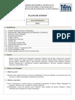 Plano_de_Pre-Calculo_UNIVERSIDADE FEDERAL DE PELOTAS