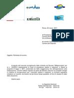 L 122 Fondi Telef-Elettr richiesta incontro CommLav Camera Deputati