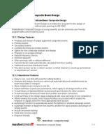 12 MasterBeam Composite Design