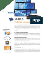 Fiche technique - L'afficheur numérique Q-Bix