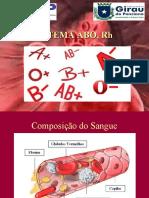 Sistema Abo e Rh e Eritroblastose Fetal