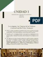 Unidad 1 - Introducción al Estudio de las Políticas Públicas
