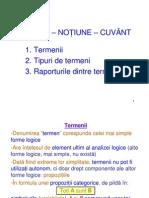 IV. TERMEN - NOTIUNE - CUVÂNT