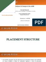 Placement Structuré Et Découvert & Escompte -