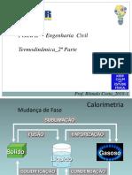 05. Física II Termodinâmica 2ªParte FaSaR RFC