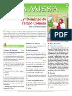 A Missa - Ano B - nº 41 - 13º Domingo Tempo Comum - 27.06.21