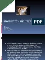 Biomimetics and Textiles