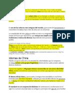 informacion cultura china