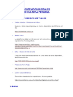 Contenidos Digitales de Cultura Peruana