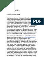 Cardiac Control Centre