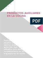 4 Unidad III PRODUCTOS AUXILIARES EN LA COCINApps