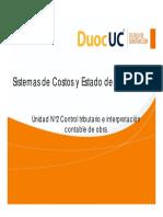 2.1.1 Sistemas de Costos y Estados de Resultados(1)