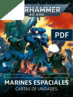 Codex Marines Espaciales - Cartas de Unidades 9