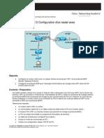 Configuration d'un router avec le protocole BGP