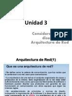 Unidad 3 Arquitectura de Red
