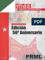 Temas Revolucionarios - 56 aniversario VC PRML