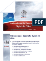 Indicadores de Desarrollo Digital2010-2sem