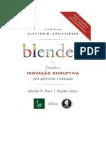 Blended Usando a Inovação Disruptiva - Michael B Horn