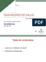 A Clase Grabada 10 Indicadores de Salud