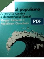 Nacional Populismo Introdução