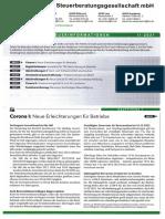 LHV Steuerberatung Steuerinformation Landwirtschaft Q2 2021