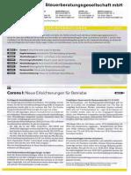 LHV Steuerberatung Steuerinformation Gewerbe Q2 2021