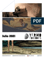 Novedades Yermo Ediciones julio 2021