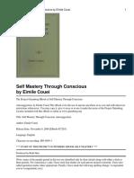 self mastery through conscious