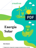 Fontes de energia alternativa - slide