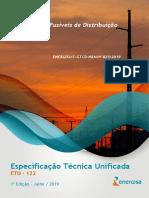 ETU122 Chaves Fusíveis de Distribuição - Especificações Gerais