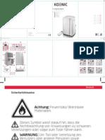 Koenic KAC 3232 Air Conditioner