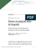 Darwin, Um Geógrafo Antes Da Geografia _ Unicamp