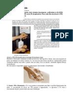 Álcool Glicerinado - Assepsia