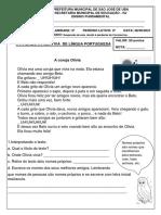 PLANO DE ESTUDOS- 28-06 A 02-07!!!!