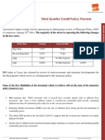 Q3 Credit Policy Preview_MPA_24 Jan 2011